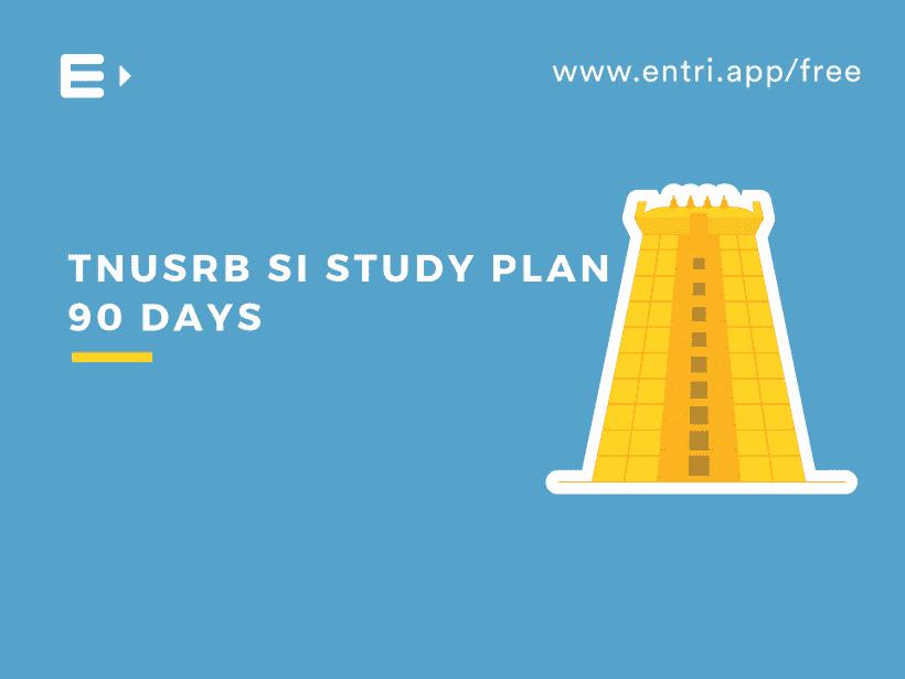 TNUSRB SI Study Plan 60days