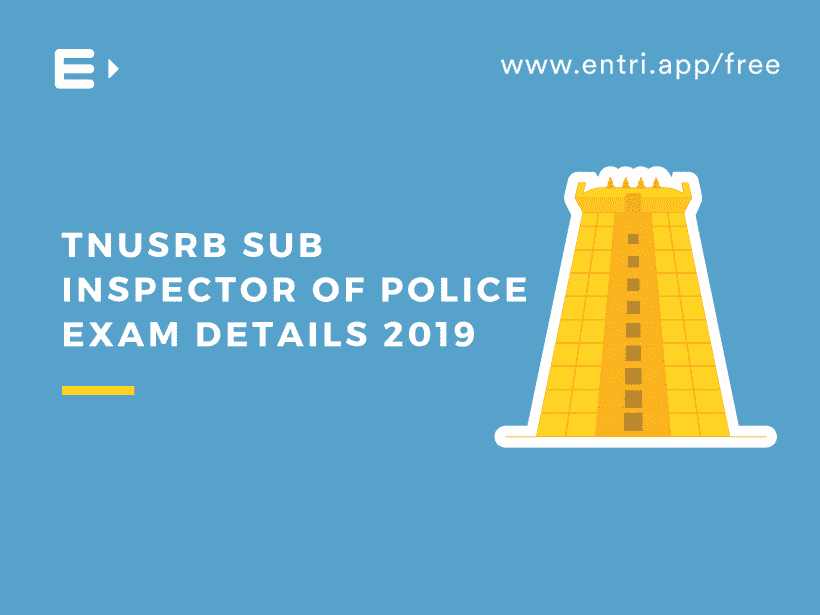 TNUSRB Sub inspector Of Police