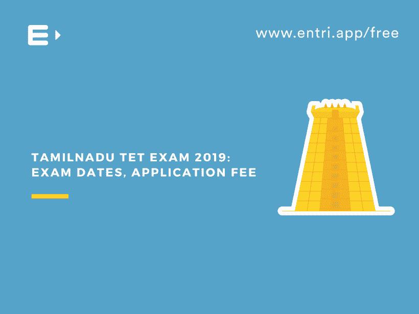 Tamilnadu TET 2019