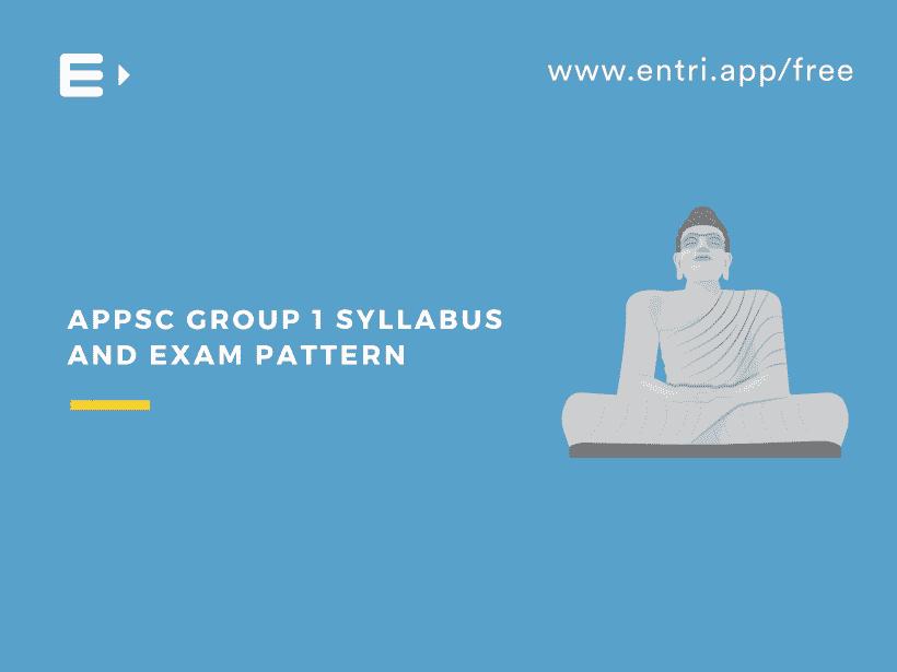 APPSC Group 01exam pattern