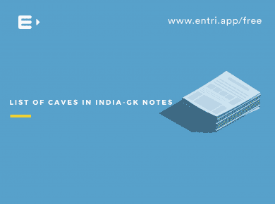 List of Caves in India