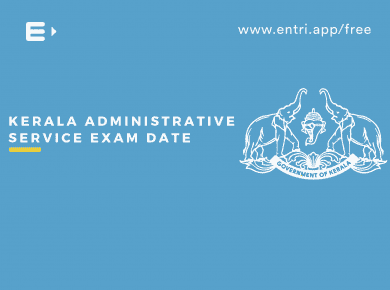 Kerala Administrative Service Exam Date