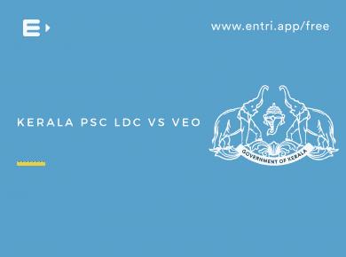 Kerala PSC LDC Vs VEO