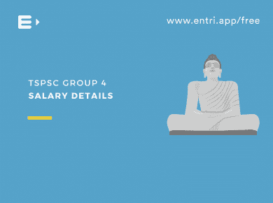 TSPSC Group 4 salary details
